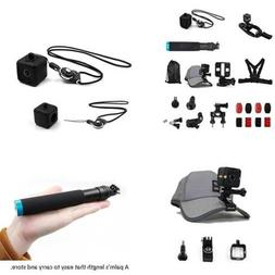 TELESIN 17-in-1 Mount Accessories Kit for Polaroid Cube and