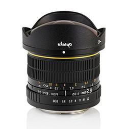 Opteka 6.5mm f/3.5 Fisheye Lens for Nikon D7500, D7200, D710