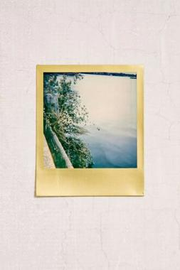 Polaroid - Color 600 Film - Metallic Gold Frame