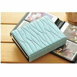 CLOVER Colorful Leaf Pattern 64 Slots Album Mini Book Album