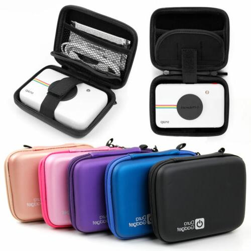 hard case for polaroid snap black purple