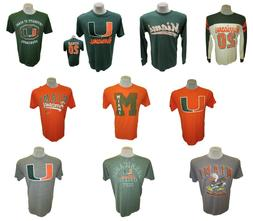 Miami Hurricanes STARTER Tees L/S & SS Shirt Closeout Sale!