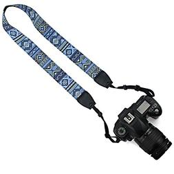 Elvam Camera Neck Shoulder Belt Strap for DSLR / SLR / Nikon