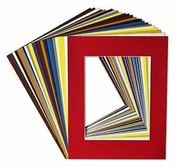 Golden State Art, Pack of 25, Acid-Free Mixed Colors Pre-Cut