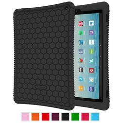 Fintie Silicone Case for All-New Amazon Fire HD 10 Tablet